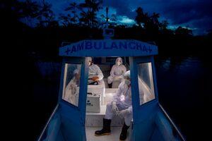 عکس/ قایق آمبولانس