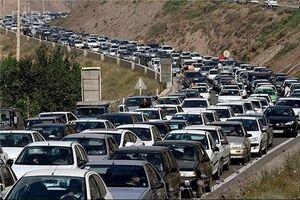وضعیت ترافیک جادههای خروجی تهران