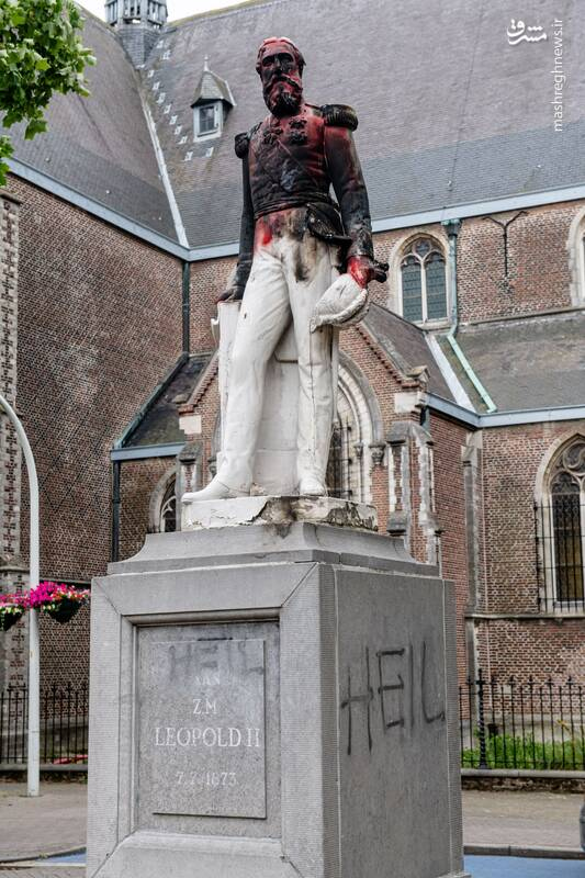 مجسمه لئوپولد دوم پادشاه اسبق بلژیک