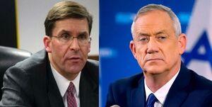 رایزنی وزرای دفاع آمریکا و اسرائیل درباره ایران