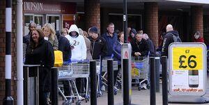 بیشترین کاهش رشد اقتصاد انگلیس رقم خورد
