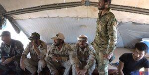 عناصر مسلحی که به آغوش ارتش سوریه بازگشتند +عکس