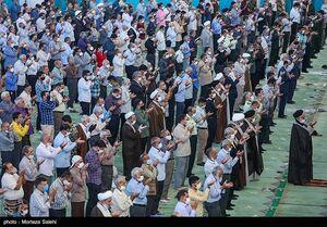عکس/ اقامه نماز جمعه اصفهان بعد از سه ماه