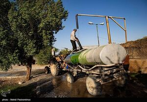 عکس/ گروه جهادی دست سلیمانی در غیزانیه