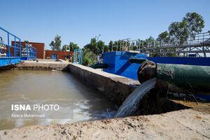 عکس/ افتتاح فاز اول پروژه آبرسانی به غیزانیه