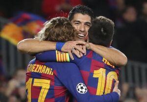 بازگشت مثلث هجومی بارسلونا پس از ۵ ماه