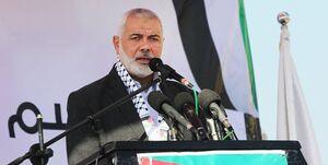 هنیه: مقاومت مسلحانه باید در اولویت فلسطینیان باشد