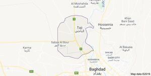 نقشه عراق التاجی