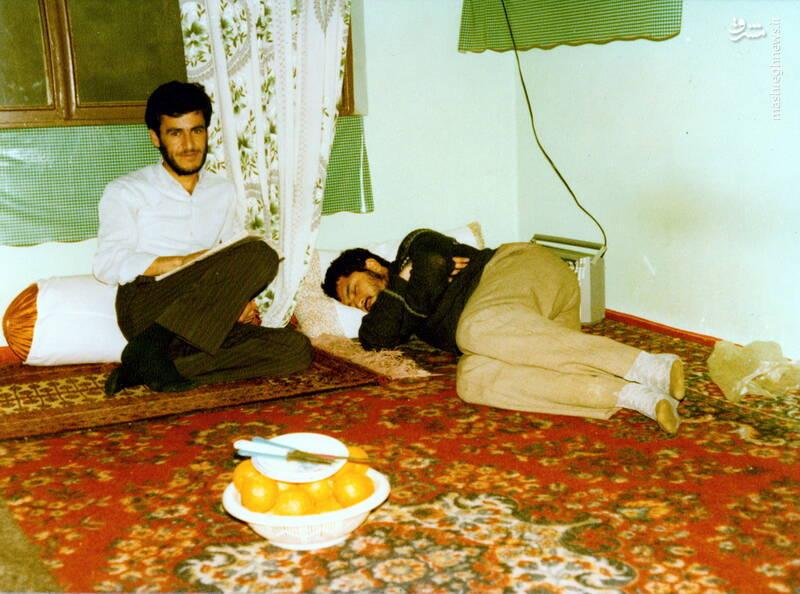 شهید حجتالله امیرصوفی(در حال خواب)