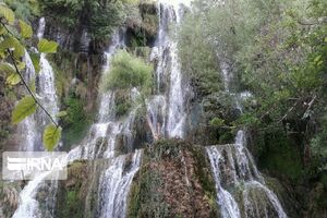 عکس/ آبشار دیدنی نیاسر کاشان