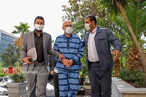 عکس/ سومین جلسه رسیدگی به اتهامات اکبر طبری