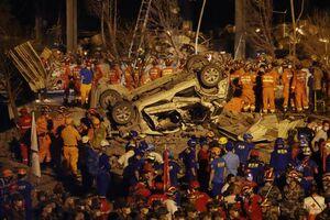 عکس/ انفجار مرگبار تانکر سوخت در چین
