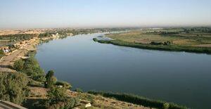 رودخانه دجله به رنگ خون درآمد +عکس