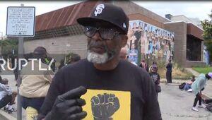 فیلم/ بغض یک سیاهپوست از بیعدالتی در آمریکا