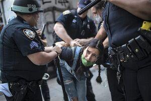 اعتراضات آمریکا خشونت پلیس آمریکا