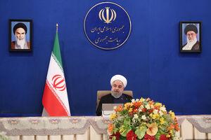 فیلم/ خبرهای بورسی روحانی در جلسه هیئت دولت