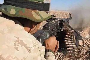 نبرد سنگین ارتش سوریه با داعش