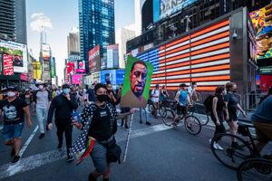 عکس/ ادامه تظاهرات ضدنژادپرستی در آمریکا