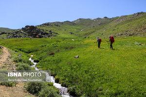 عکس/ طبیعت بکر «کوه بدر»