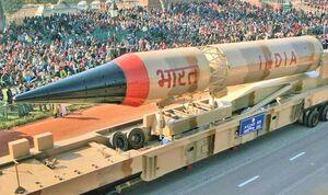 هند چندتا کلاهک اتمی دارد؟