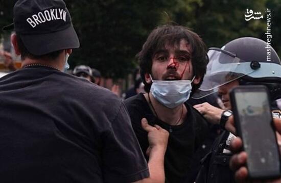 فیلم/ اعلام وضعیت شورش در پورتلند آمریکا