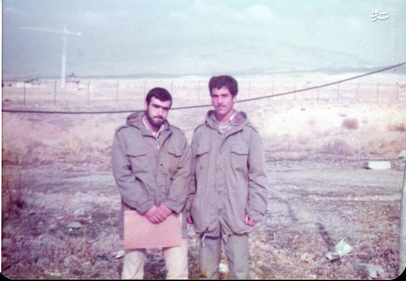 شهید عبدالرضا امینی(نفر سمت چپ)