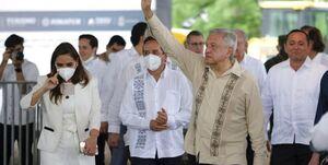 دهن کجی مکزیک به آمریکا
