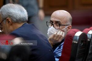 عکس/ چهارمین جلسه رسیدگی به اتهامات اکبر طبری