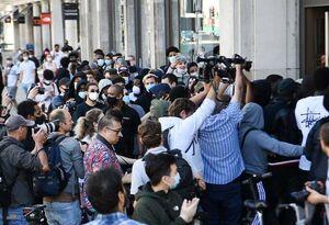 عکس/ ازحام جمعیت در مراکز خرید