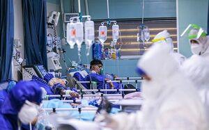 بستری ۳۱۶ کرونایی در ۲۴ ساعت گذشته در تهران