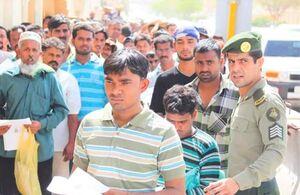 خروج ۱.۲ میلیون کارگر خارجی از عربستان تا پایان سال