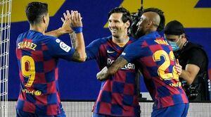 توقف بدموقع بارسلونا در لالیگا/ قهرمانی به خطر افتاد؟