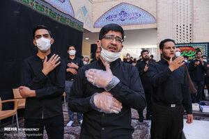 عکس/ عزاداری شهادت امام جعفرصادق(ع) در یزد