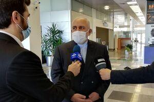 فیلم/ توضیحات ظریف بعد نشست با اعضای کمیسیون صنایع