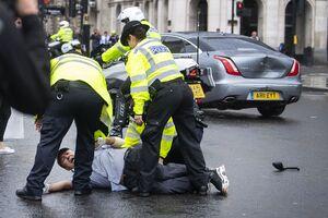 فیلم/ نخستوزیر انگلیس تصادف کرد