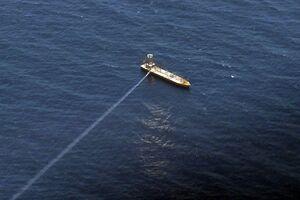 تصویری از لحظه برخورد موشک کروز ارتش به هدف