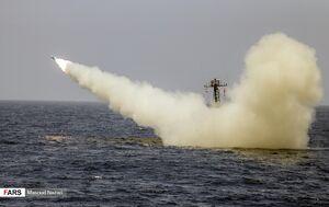 عکس/ رزمایش موشکی نیروی دریایی ارتش