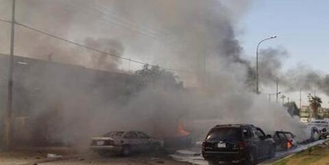 فیلم/ انفجار مهیب خودروی بمبگذاریشده در سوریه