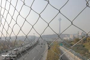 افزایش غلظت برخی آلایندهها در هوای تهران