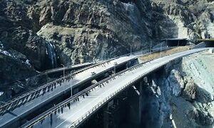 بهره برداری از منطقه ۲ آزاد راه تهران ـ شمال تا پایان دولت دوازدهم