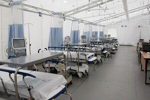 افتتاح بیمارستان صحرایی ویژه کرونا در مکزیک