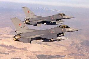 حملات هوایی ترکیه علیه مناطق مرزی عراق