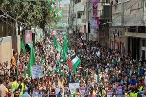 فلسطینیان تظاهرات ضد صهیونیستی برگزار کردند