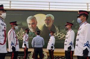 عکس/ رونمایی از یادمان شهدای مقاومت در فرودگاه بغداد