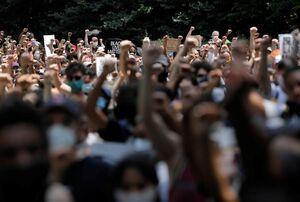 آمریکا همچنان در تصرف معترضان نژادپرستی