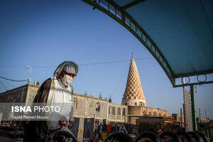 عکس/ بازگشایی حرم حضرت دانیال نبی(ع)