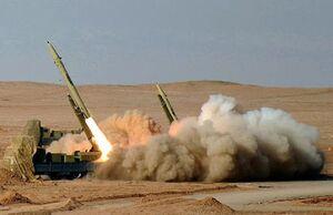 فیلم/ غرش موشکهای سپاه در خلیج فارس