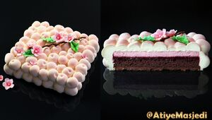 کیک پزی با پرینتر سه بعدی +فیلم
