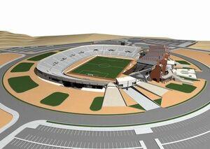 تکمیل ساخت یک ورزشگاه مدرن دیگر در ایران +عکس