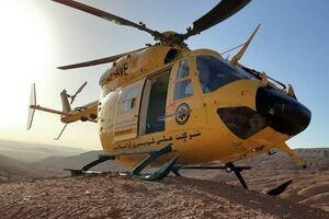 بالگرد امدادی؛ منجی ۲ مفقودی در ارتفاعات کوه سره +عکس